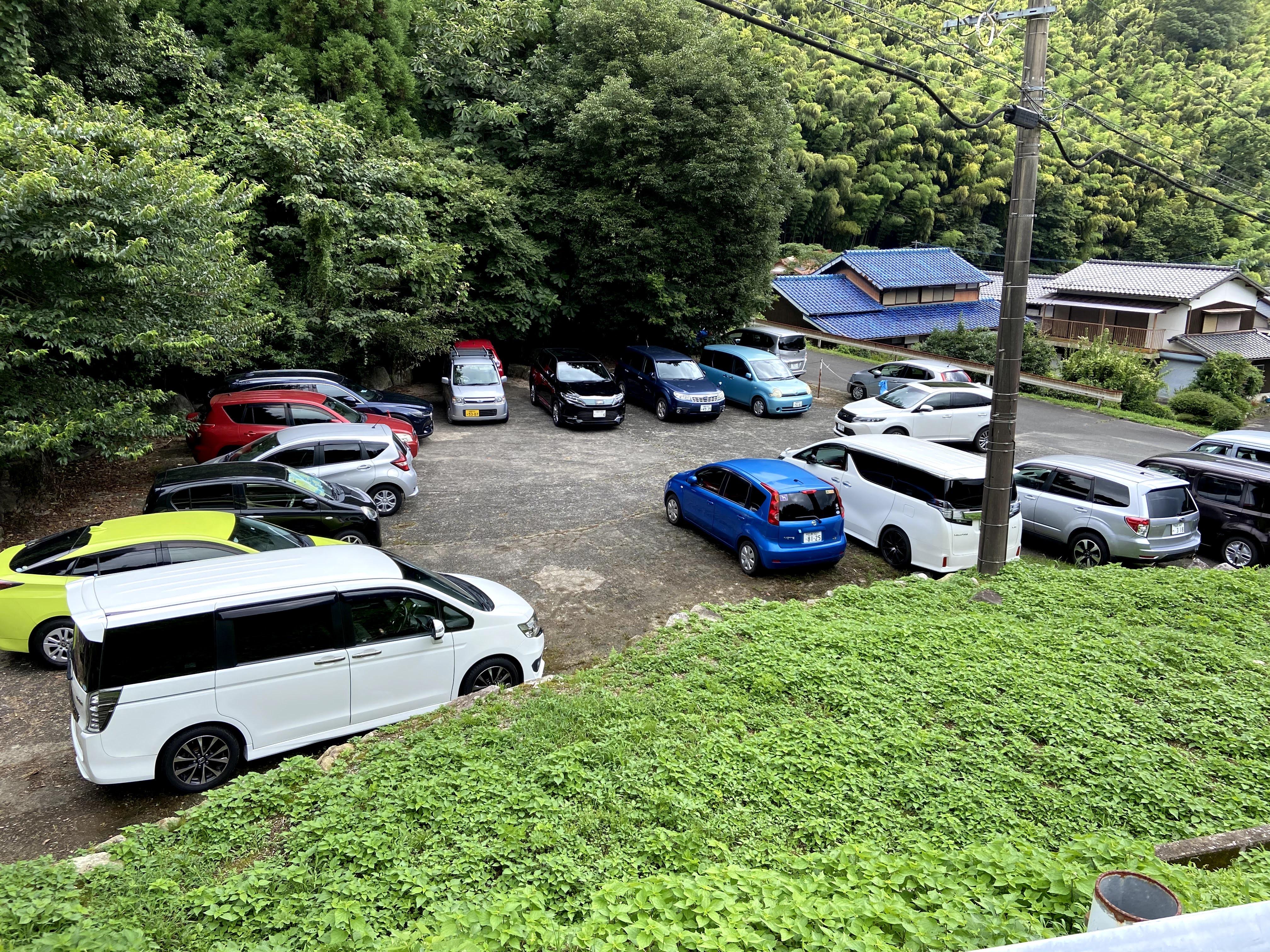 野河内渓谷無料駐車場